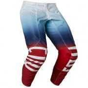 Fox Racing Airline Reepz White Red Blue Pants