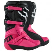 Fox Racing Youth Black Pink Comp Motocross Boots