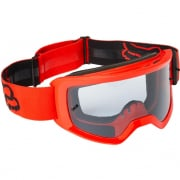 Fox Racing Main Youth Stray Flou Red MX Goggles