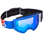 Fox Racing Main Youth Skew Spark White Red Blue MX Goggles