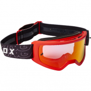Fox Racing Main Youth Peril Spark Flou Red MX Goggles