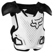 Fox Racing Youth R3 White Chest Protector