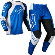 Fox Racing Youth 180 Lux Blue Kit Combo
