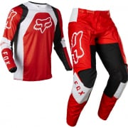 Fox Racing Youth 180 Lux Flou Red Kit Combo