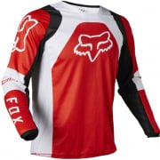 Fox Racing Youth 180 Lux Flou Red Jersey