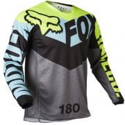 Fox Racing Youth 180 Trice Teal Jersey
