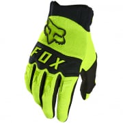 Fox Racing Youth Dirtpaw Flou Yellow Gloves