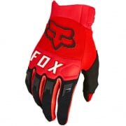 Fox Racing Youth Dirtpaw Flou Red Gloves