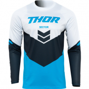 Thor Kids Sector Chev Blue Navy Jersey