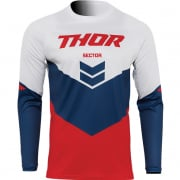 Thor Kids Sector Chev Red Navy Jersey