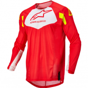 Alpinestars Kids Racer Factory Red Fluo White Yellow Fluo Jersey