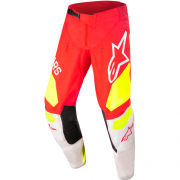 Alpinestars Kids Racer Factory Red Fluo White Yellow Fluo Pants
