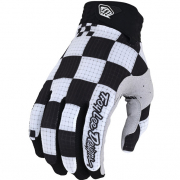Troy Lee Designs Air Chex Black White Gloves