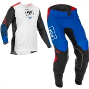 Fly Racing Lite Red White Blue Kit Combo