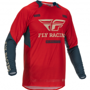 Fly Racing Evolution DST Red Grey Jersey