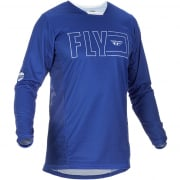 Fly Racing Kinetic Fuel Blue White Jersey