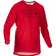 Fly Racing Kinetic Fuel Red Black Jersey
