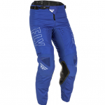 Fly Racing Kinetic Fuel Blue White Pants