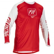 Fly Racing Lite Red White Jersey