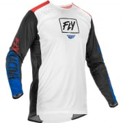 Fly Racing Lite Red White Blue Jersey