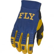 Fly Racing Evolution DST Navy White Gold Gloves