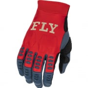 Fly Racing Evolution DST Red Grey Gloves