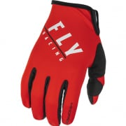 Fly Racing Windproof Lite Black Red Gloves