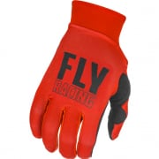 Fly Racing Pro Lite Red Black Gloves