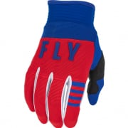 Fly Racing Kids F16 Red White Blue Gloves