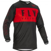 Fly Racing Kids F16 Red Black Jersey