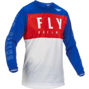 Fly Racing Kids F16 Red White Blue Jersey