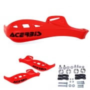Acerbis Rally Profile Handguards - Red
