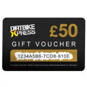 Dirtbikexpress Gift Voucher 50 Pounds