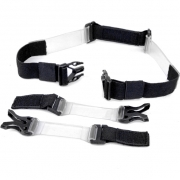 Leatt Clear Chest Strap - Velcro